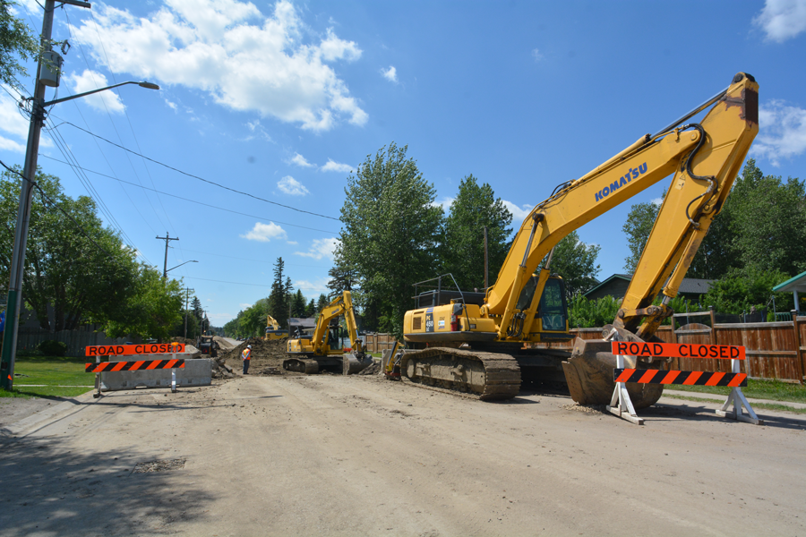 50 Ave Construction