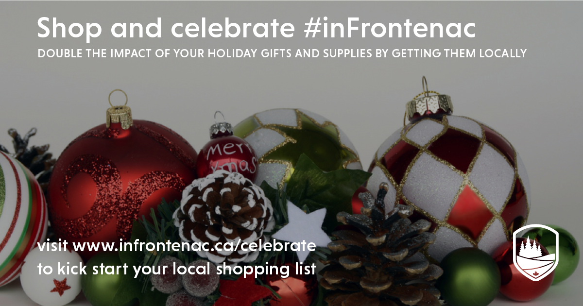 Shop and celebrate #inFrontenac
