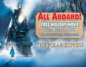 polar express film poster