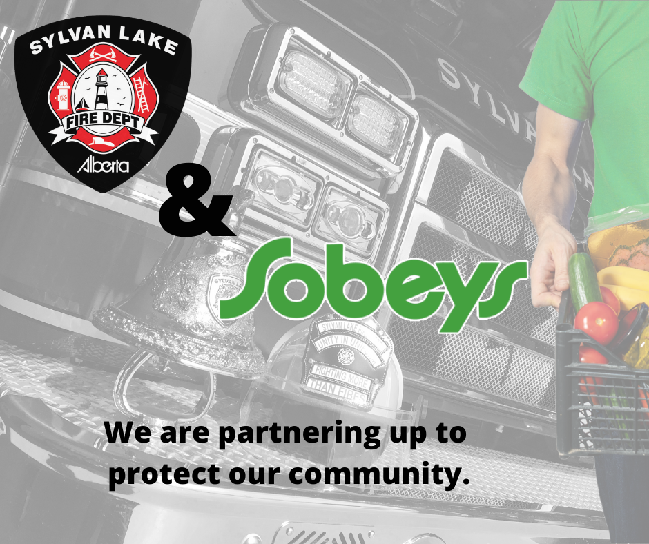 Sobeys and Fire Department Team up