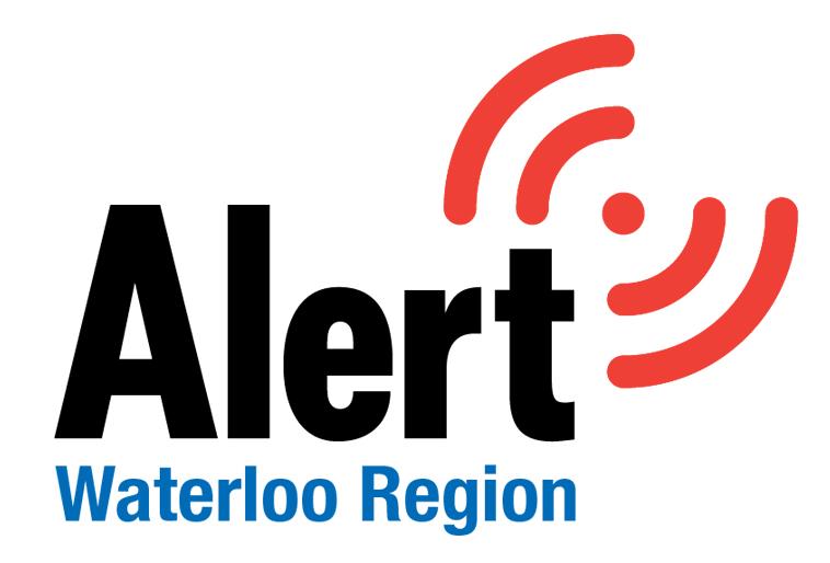 Alert Waterloo Region Logo