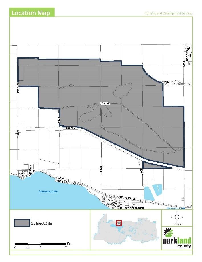 Location Map bylaw 2018-02
