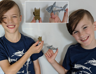 ben and andrew with quick prints