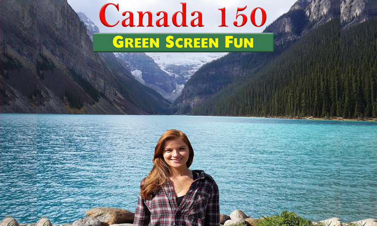 Canada 150 Green Screen Fun