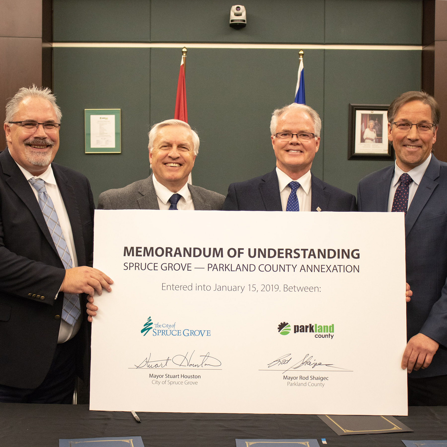 2019-01-15-ParklandCountySpruceGrove_AnnexationMOUSigning Square
