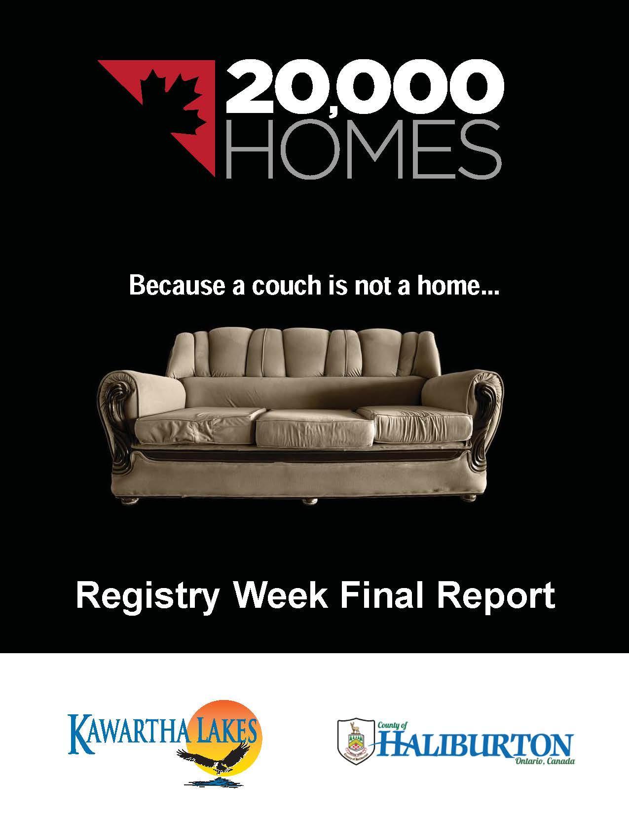 2018 Registry Week Final Report