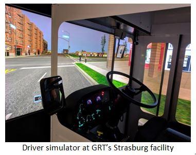 GRT driver simulator