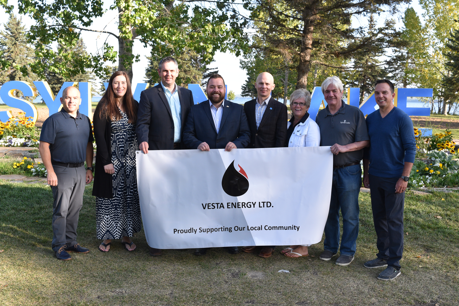 Vesta Energy Members with Council