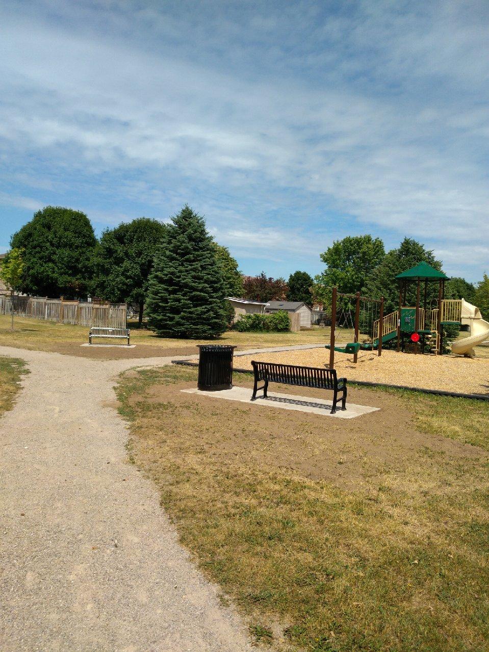 Douglas Park bench