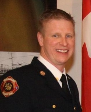 North Glengarry Fire Chief Matthew Roy