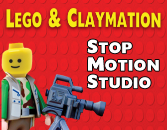 lego figure with movie camera