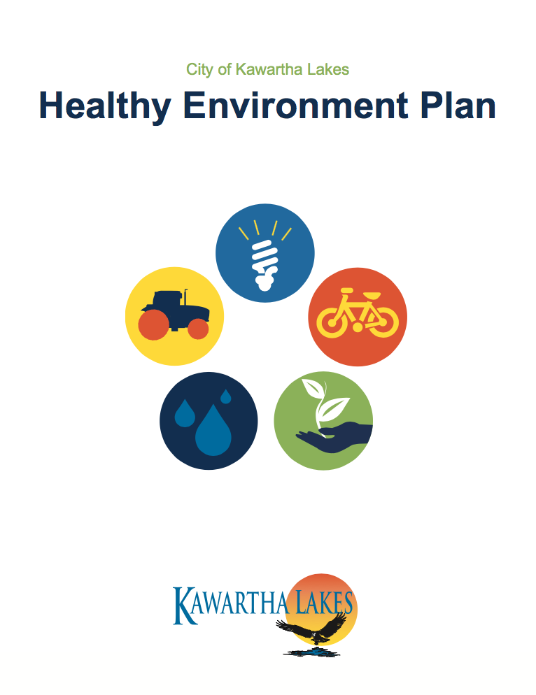 Healthy Environment Plan cover