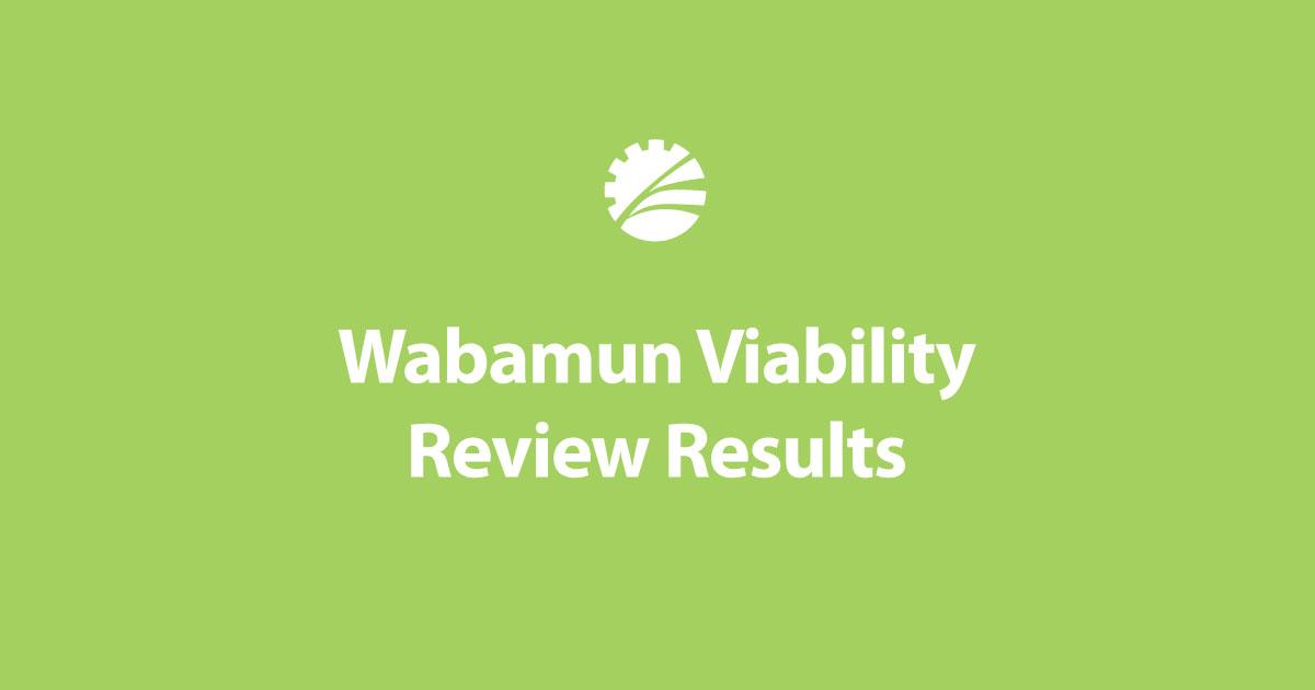 WabamunViabilityReview