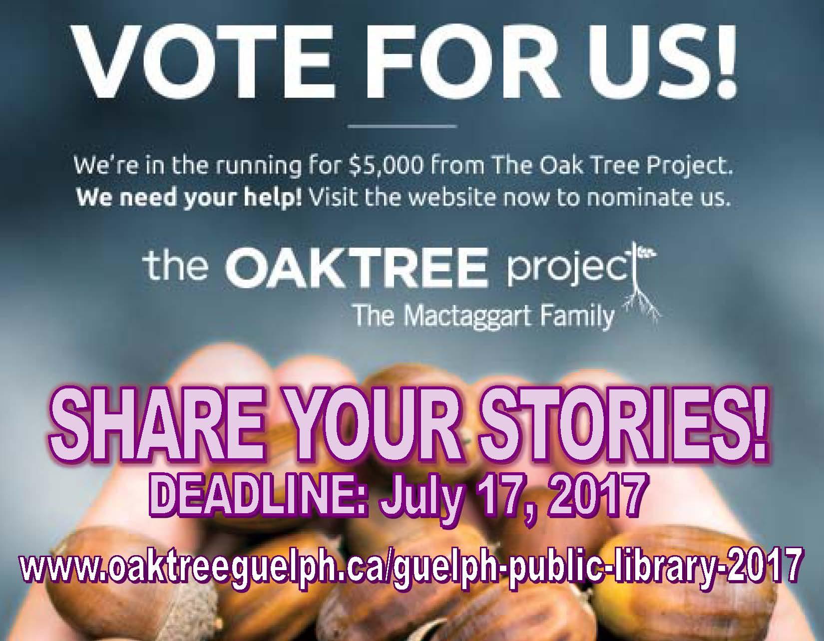 Oak Tree Project 2017