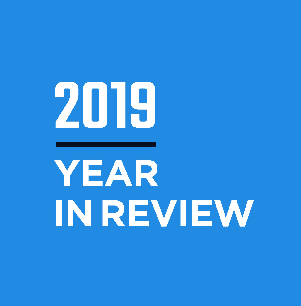 2019 Year In Review