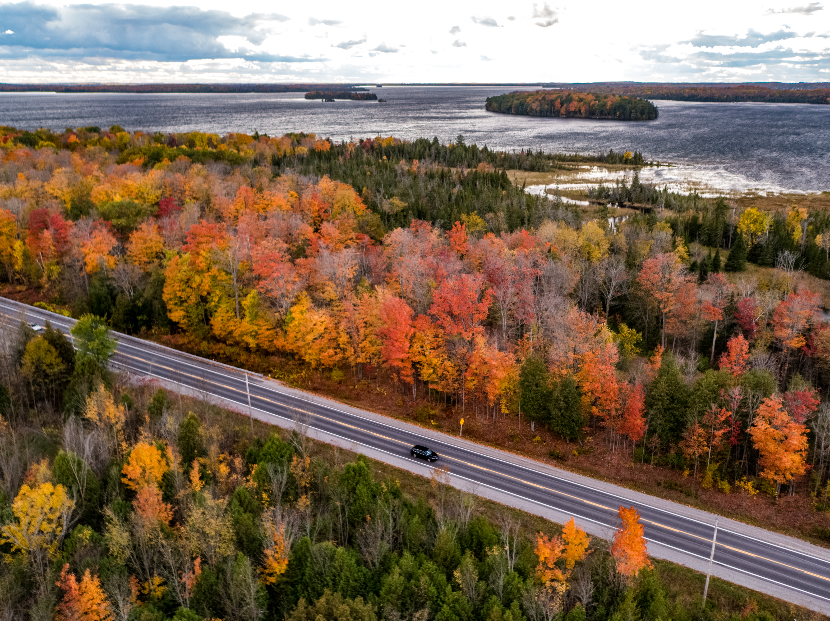 Kawartha Lakes - 2019 Fall - Fall Drives Balsam Lake BG A2