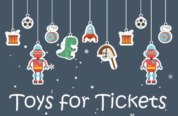 Toys for Tickets 2019