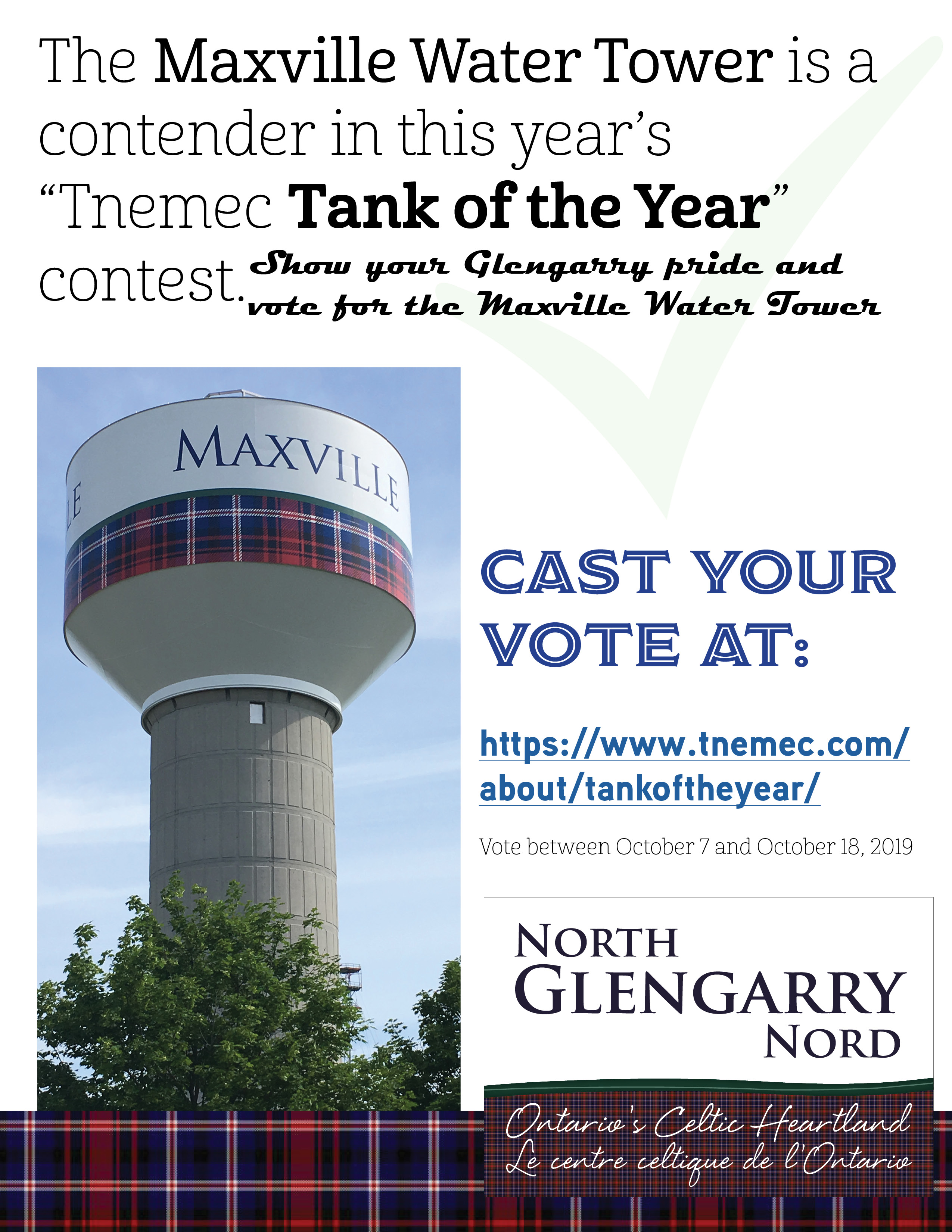 Tnemec Tank of the year contest