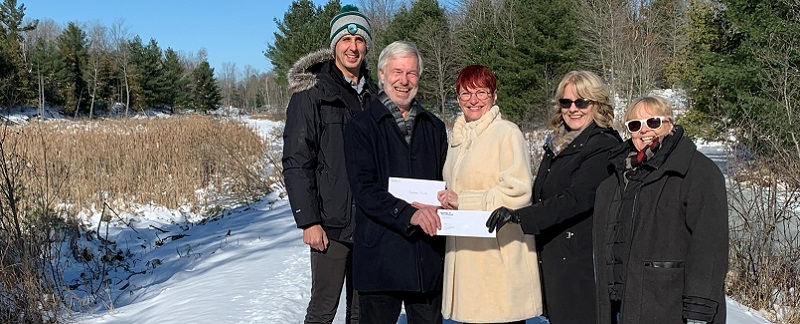 Frontenac County receives grant from Frank Cowan Company
